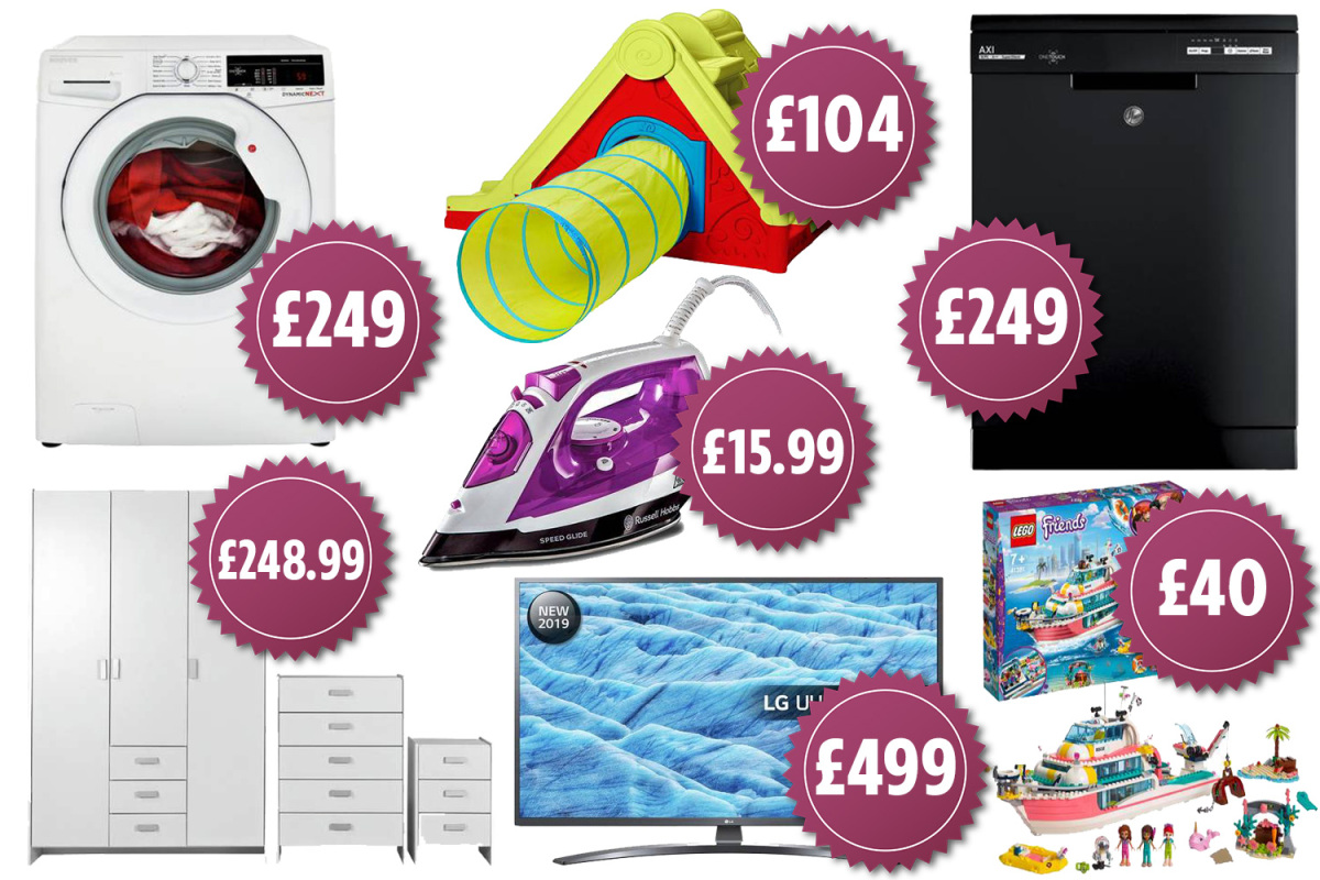 Argos Red Sale Has Hundreds Of Deals Including Washing Machines