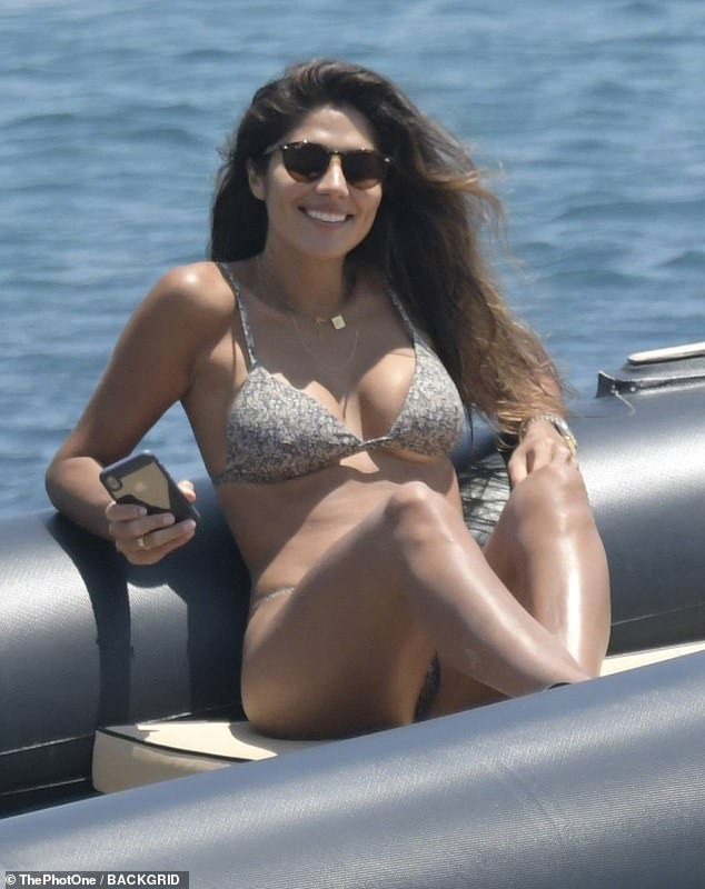 Sex symbol: Pia is considered one of Australia's most beautiful women. Pictured holidaying in Mykonos, Greece on June 18