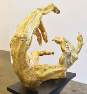 Golden Gibbon Hands, by Lisa Roet.