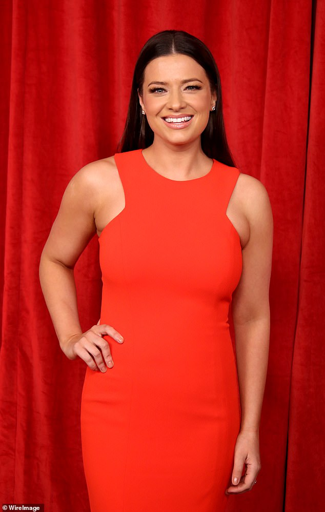 She's home! The Hollyoaks actress explained that after a 'scary week' in hospital and 'a lot of weight loss' she is finally home as she praised the NHS for giving her 'the most amazing care'