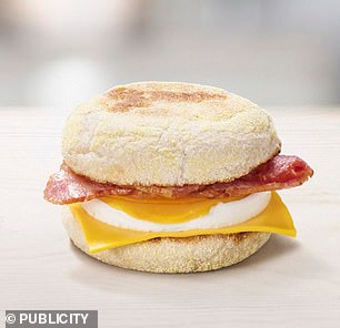 Ms Campbell recommends the Bacon and Egg McMuffin if you are having breakfast at McDonald's