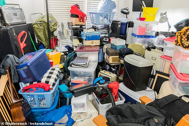 Hoarding (stock image) was believed to be a manifestation of obsessive compulsive disorder, or OCD ¿ in which obsessive thoughts drive repetitive, uncontrollable behaviours. But recent studies have shown it is a mental illness in its own right