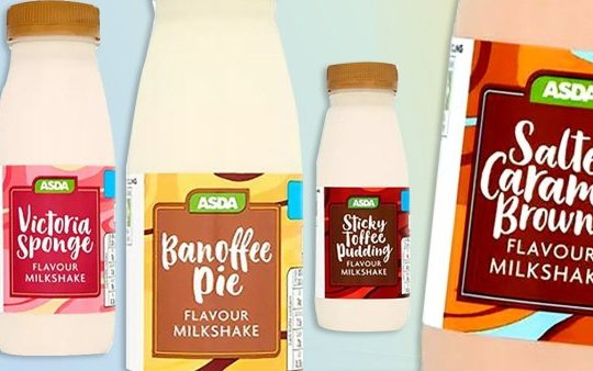 The new milkshakes