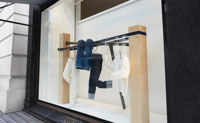 Cos celebrates 150 years of denim on Regent Street