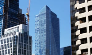 The Millennium Tower has sunk and tilted 18 inches toward the north-west since it was built in 2008.