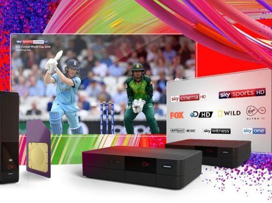 The Virgin Media 'Oomph' deal includes broadband, TV and a SIM (Virgin Media)
