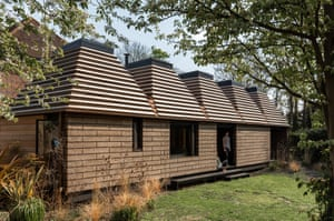 The Stirling prize-shortlisted Cork House in Eton.