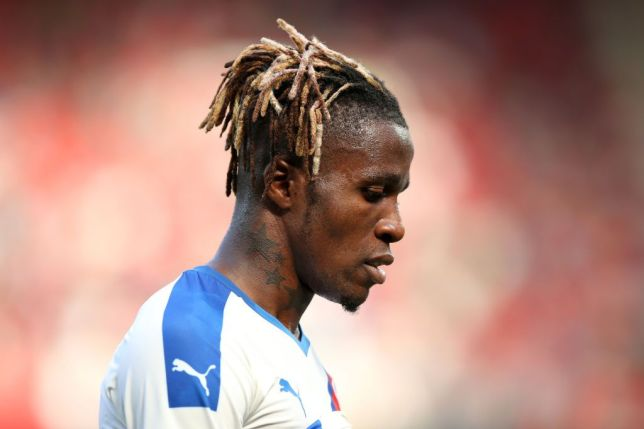Wilfried Zaha ruins Ashley Young with ridiculous skill in Man Utd v Palace