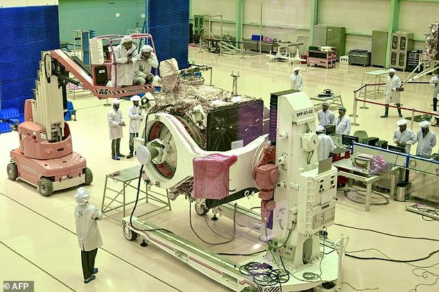 The South Asian nation is bidding to become just the fourth nation to land a spacecraft on the Moon after the US, USSR and China