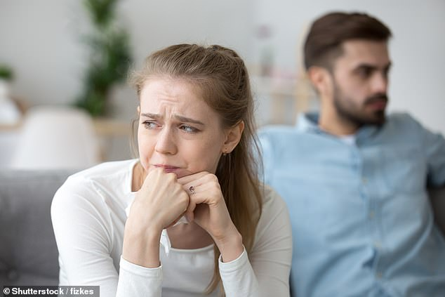 This behaviour may be a form of compensation, with the women focusing more on their sons to make up with their dissatisfaction with their partners(stock image)