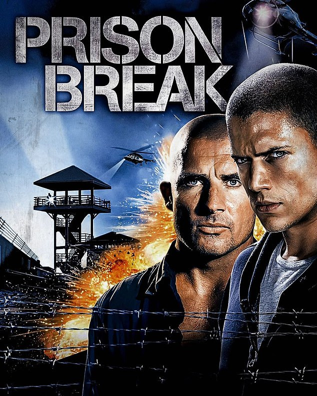 Hollywood heartthrob:Dominic is best known for his role as protagonist Lincoln Burrows on FOX's Prison Break