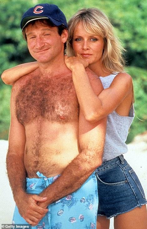 Twiggy starred with Robin Williams in 1986 film Club Paradise