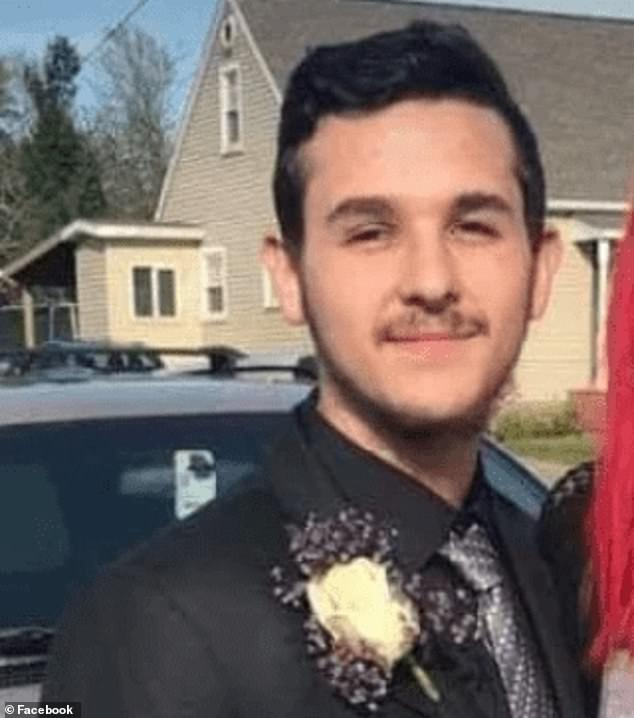 Anthony Mayo, 19, of Erie, Pennsylvania, became seriously ill due to his vaping habit