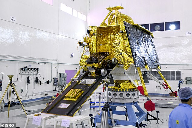 Chandrayan-2 (pictured)  has successfully released its rover, Vikram, from the orbiter and sent it towards our natural satellite. Vikram will land on September 7 and robotic vehicle Pragyan will then roll out and spend one lunar day carrying out scientific experiments on the surface