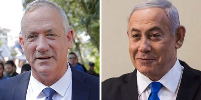 Exit polls indicated Israel's Prime Minister Benjamin Netanyahufell short of securing a parliamentary majority with his hard-line allies in Tuesday's unprecedented second election in five months.The longest serving leader in Israeli history was seeking a fifth terms in office, but faced a stiff challenge from Benny Gantz'scentrist Blue and White party.