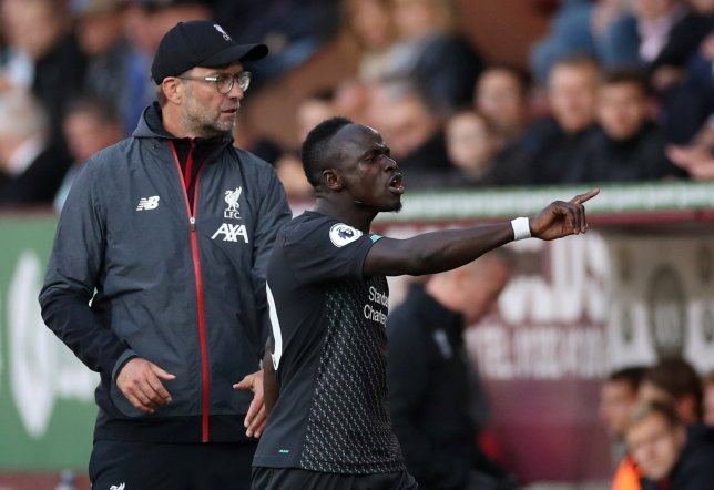 Sadio Mane was furious with Mohamed Salah during Liverpool's win over Burnley in the Premier League