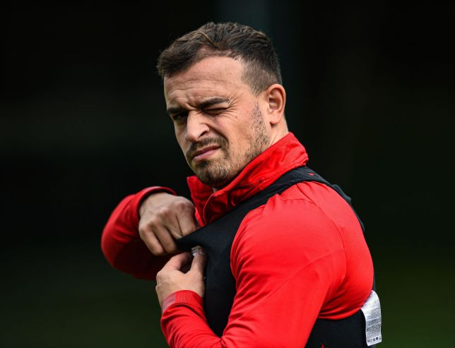 Xherdan Shaqiri has only made substitute appearances for Liverpool this season