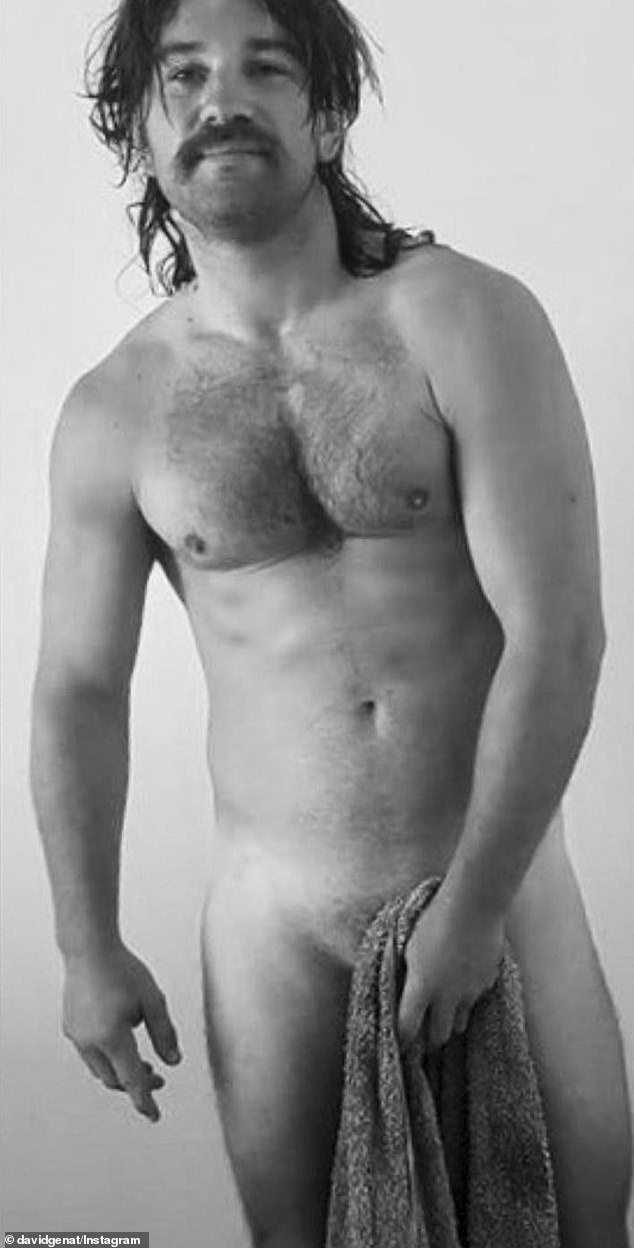 Wet n wild: Johnny Eastoe (pictured) left little to the imagination when you stripped off and let it all hang out