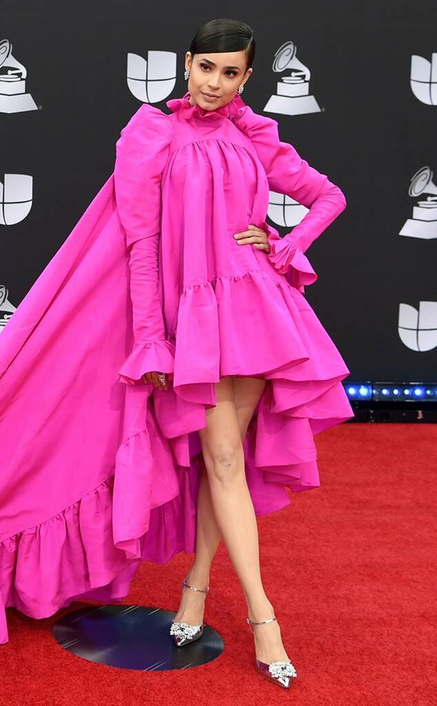 Sofia Carson, 2019 Latin Grammy Awards, Fashion Police widget