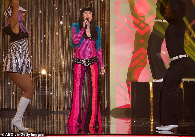Musical guest: The Beat Goes On was performed by Cher, who will tour the United States in 2020.
