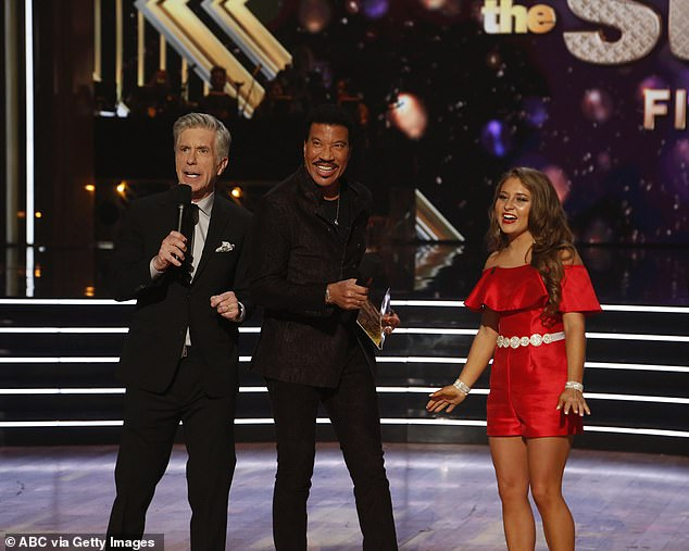 Hollywood bound: The singing legend announced that Layla Spring, 17, got American Idol's Golden Ticket back to Hollywood, per last night's competition on the American Music Awards