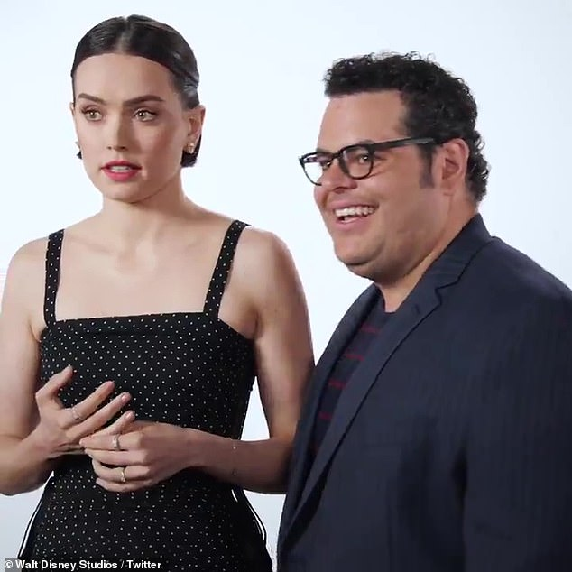 Daisy and Josh: With just nine days left until the Star Wars movie fans have been waiting decades for, The Rise of Skywalker, Josh Gad tried to break out the big guns to get answers from Daisy Ridley