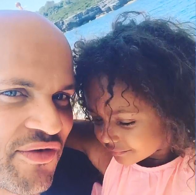 Custody: Madison stays with her father Stephen is Los Angeles where he is based