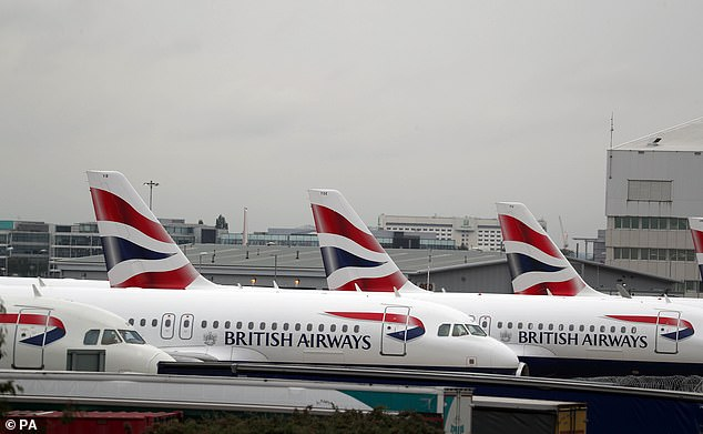 British Airways has today revealed it has suspended all flights to mainland China with 'immediate effect' due to the coronavirus crisis as the death toll hit 130