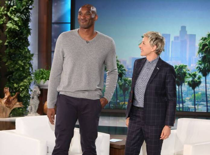 Kobe Bryant, Ellen DeGeneres, The Ellen DeGeneres Show