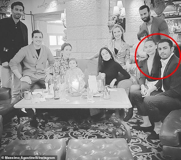 Moving on: Shanina Shaik is said to be dating 'London-based company director Seyed Payam Mirtorabi' following her split from husband DJ Ruckus