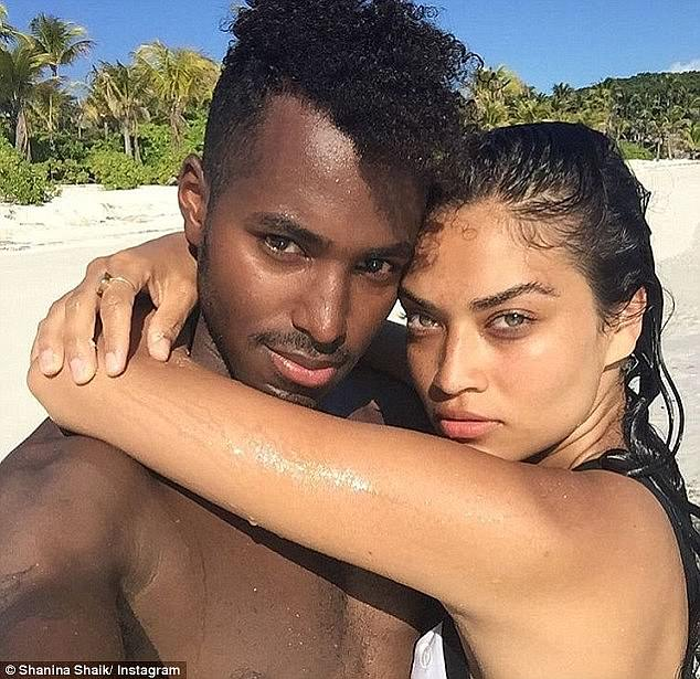 Final goodbye: Shanina's divorce from husband DJ Ruckus (pictured), real name Gregory Andrews, was made official last month