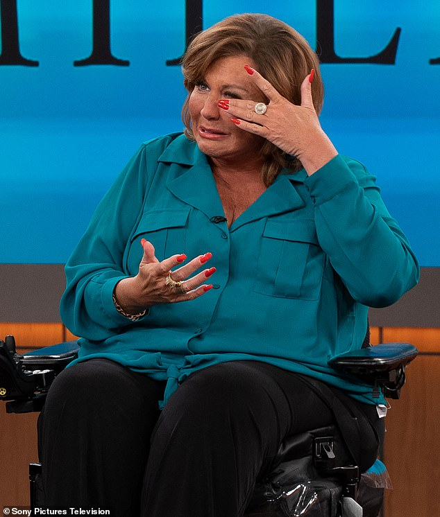 Emotional: Abby Lee Miller, of the show Dance Moms, is discussing both her health battles and reputation on a new appearance on the Dr Oz Show which will air Monday
