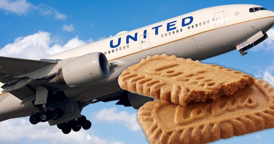Airline causes outrage as it decides to swap Biscoff cookie for alternative snack Pics: Getty/Biscoff