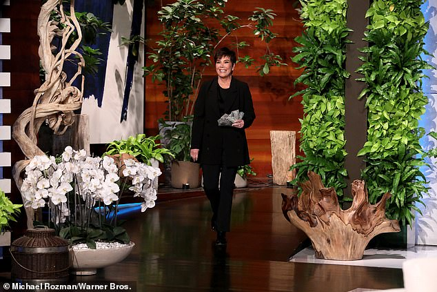 Viral:Kris Jenner opens up about creating almost instantaneous merchandise after Kylie Jenner sang 'rise and shine' during her latest appearance on Ellen