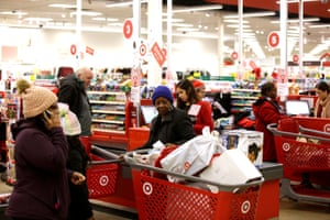As Target workers report struggling to make ends meet, Target reported record share prices at the end of 2019.