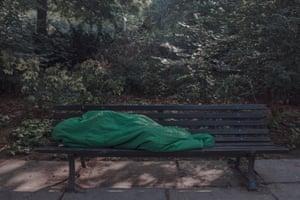 Hashem sleeps in the park