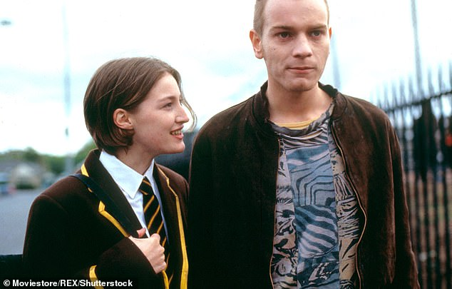 Acclaimed: Her most iconic role to date is perhaps as Diane in Trainspotting alongside Ewan McGregor