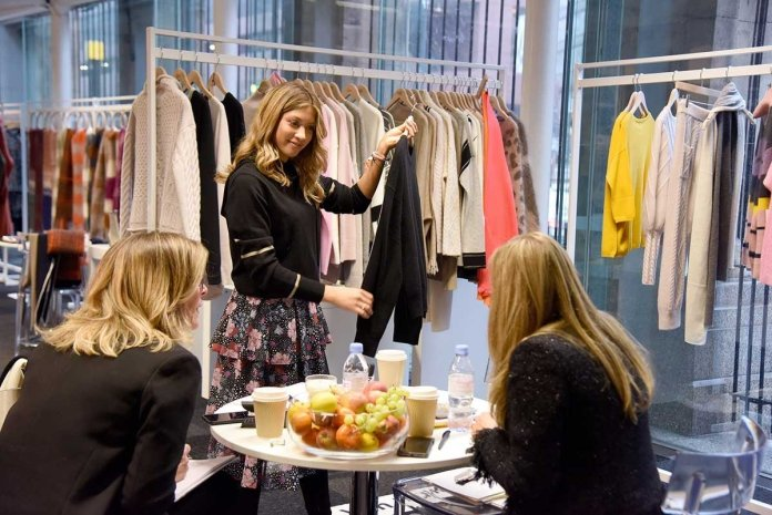 Exquisite New Designers Created the Ultimate Showroom Experience at Scoop AW20
