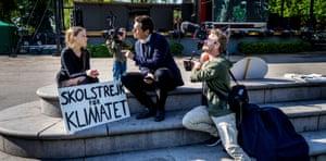 Fridays For Future climate change protest, Stockholm, November 2018