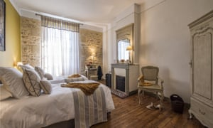 One of four bedrooms at La Sauternaise