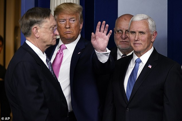Mike Pence has no medical training but Trump praised his running of healthcare in Indiana when he was governor
