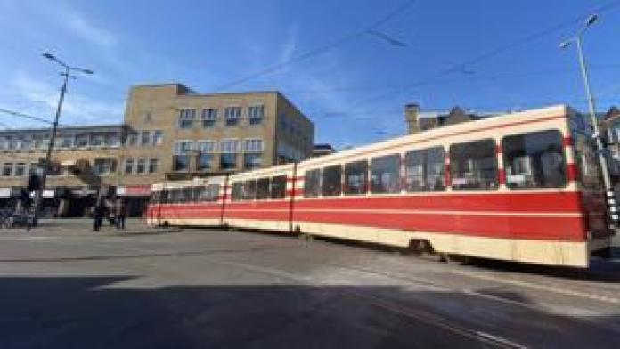 Tram in The Hague