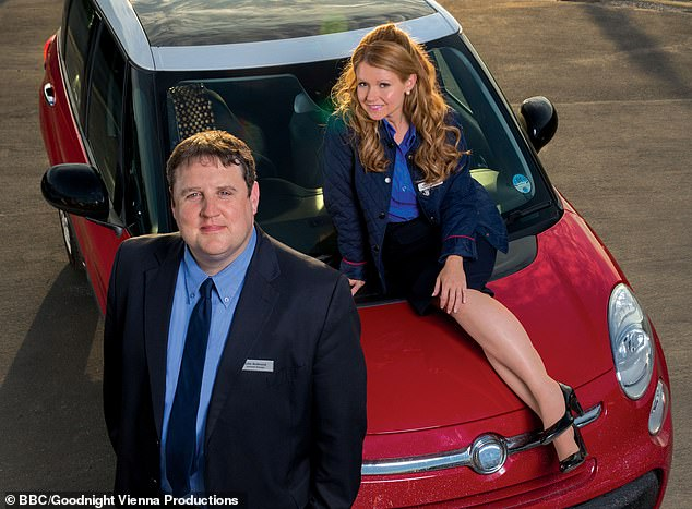 Exciting: Peter Kay has announced his popular show Car Share will return for a special one-off episode to cheer fans up amid the coronavirus pandemic (pictured with Sian Gibson as Kayleigh Kitson)