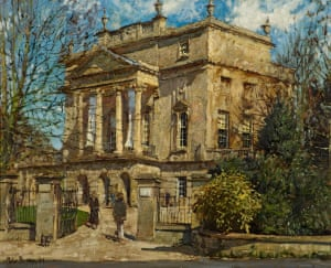 """The Holburne Museum, Bath, 2001, by Peter Brown (b1967)"""