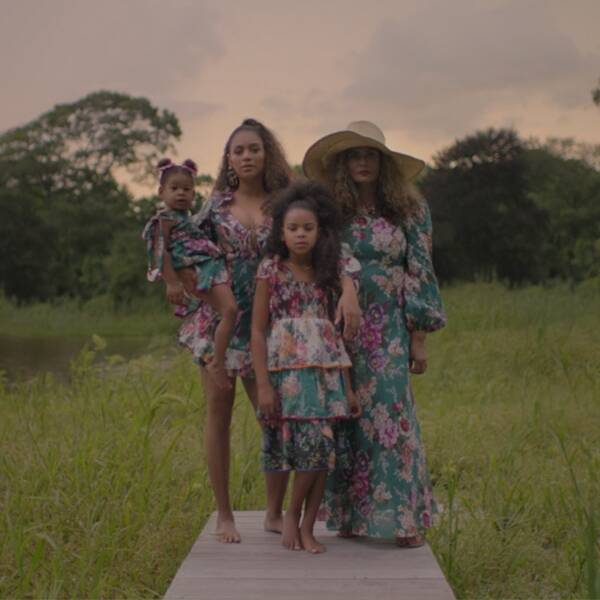 All the Times Blue Ivy, Rumi and Sir Carter Stole the Show in Beyoncé's Black Is King