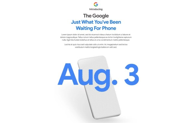Google has officially announced the reveal date for the Pixel 4a (Google)
