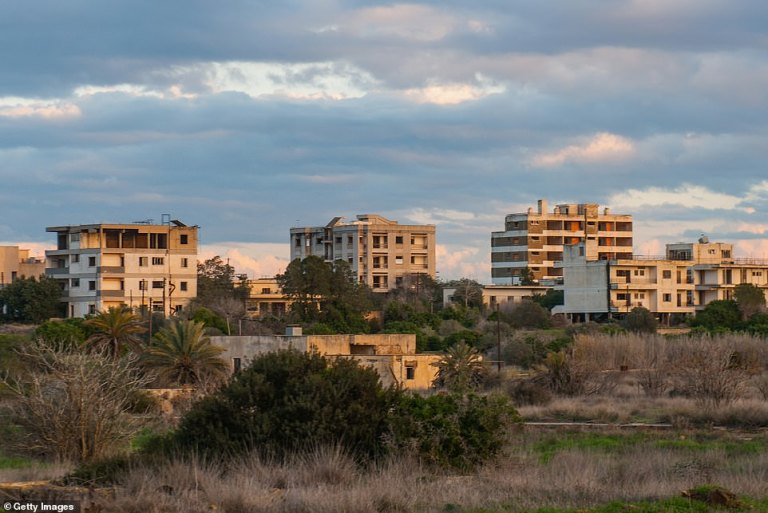 The abandoned town in Cyprus where celebrities used to frolic