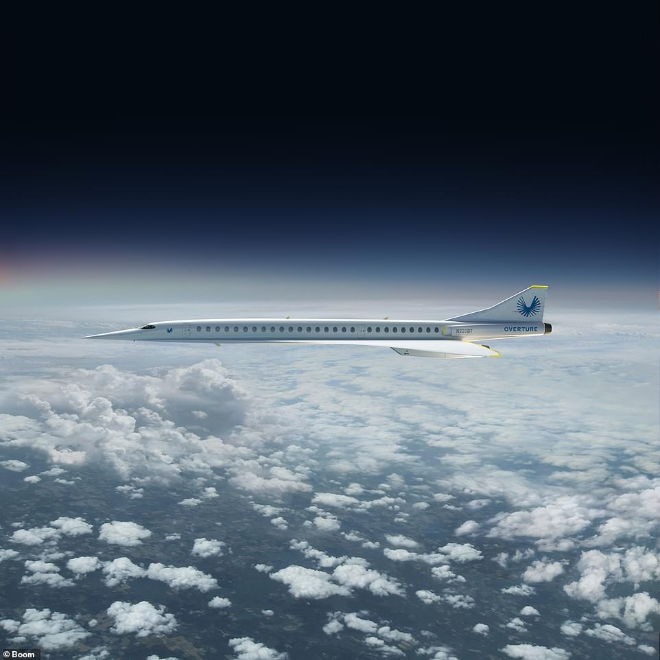 A fleet of 2,000 of the supersonic passenger planes could eventually link cities across the globe in the future. Concorde, the last supersonic passenger jet, entered service in 1976 and continued flying for 27 years