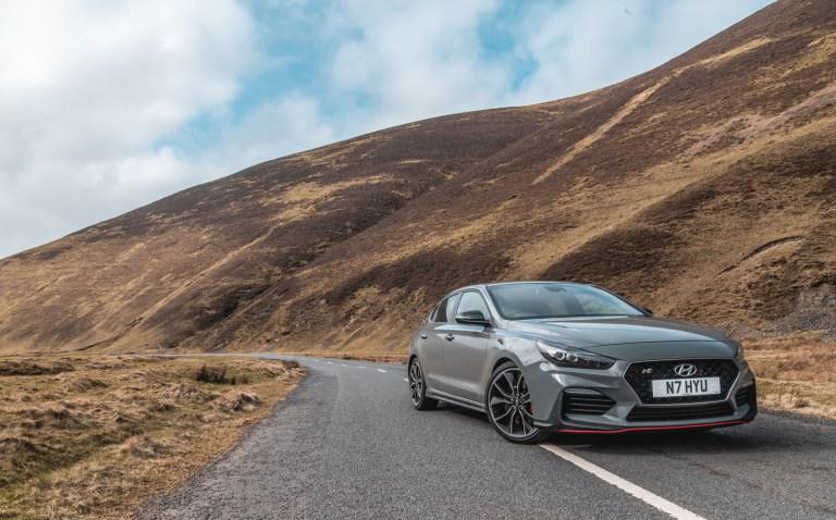 Driving Scotland's forgotten roads in a Hyundai i30 Fastback N