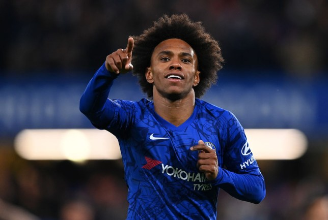 Arsenal have made a move to sign Willian from Chelsea on a free transfer